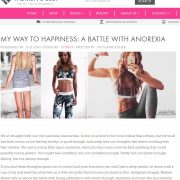my anorexia story, Womens Best