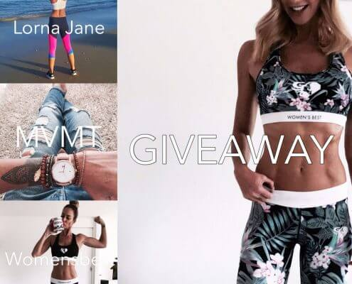 Win Giveaway from Womensbest, Lorna Jane, MVMT!