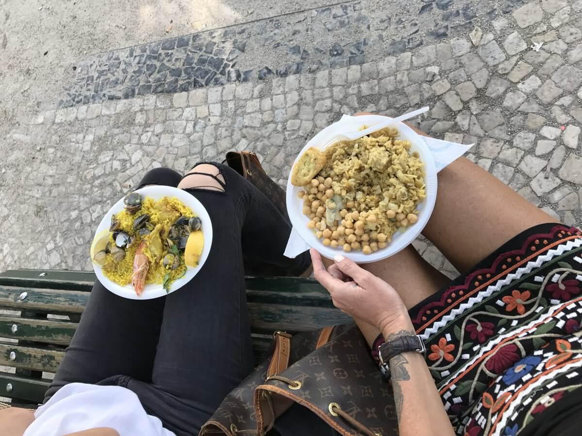 Lisbon Portugal Food Drinks Huber City